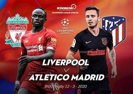 M88 Soi Kèo Liverpool vs Atletico Madrid (03h00 ngày 12/3): 1 bàn là chưa đủ