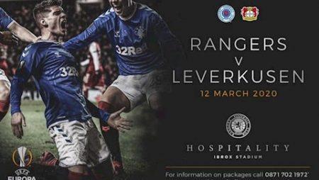 M88 Soi Kèo bóng đá Rangers vs Leverkusen 3h00 ngày 13/3 (Europa League 2019/20)