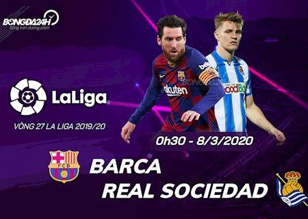 188Bet Soi Kèo bóng đá Barca vs Sociedad 0h30 ngày 8/3 (La Liga 2019/20)