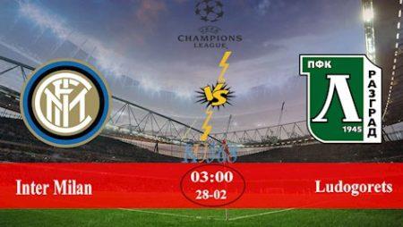 M88 Soi Kèo bóng đá Inter Milan vs Ludogorets 3h00 ngày 28/2 (Europa League 2019/20)