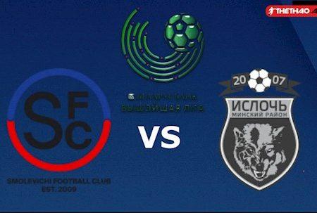 M88 Soi Kèo bóng đá Smolevichi vs Isloch Minsk 18h00 ngày 29/3 VĐQG Belarus 2020