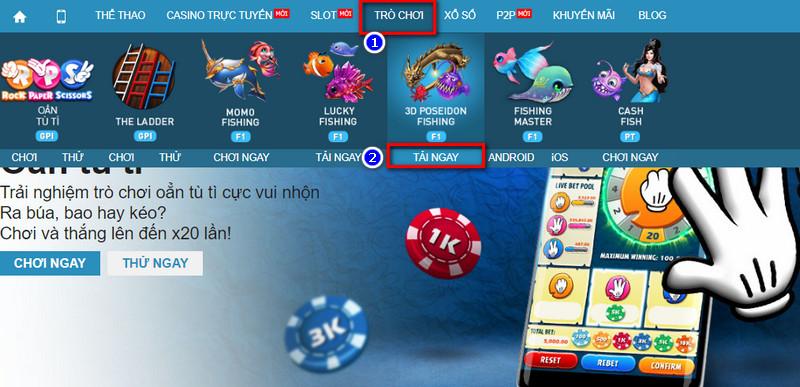 Tìm hiểu game 3D Poseidon Fishing tại nhà cái W88 3