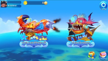 momo fishing- trò chơi bắn cá ăn tiền thật hấp dẫn tại Fun88