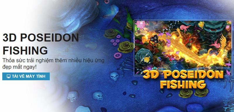 Tìm hiểu game 3D Poseidon Fishing tại nhà cái W88 1