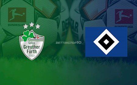 M88 Soi Kèo bóng đá Greuther Furth vs Hamburg 18h30 ngày 17/5 (Hạng 2 Đức 2019/20)