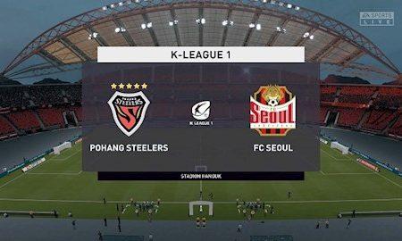 M88 Soi Kèo bóng đá Pohang Steelers vs Seoul 17h30 ngày 22/5 (VĐQG Hàn Quốc 2020)