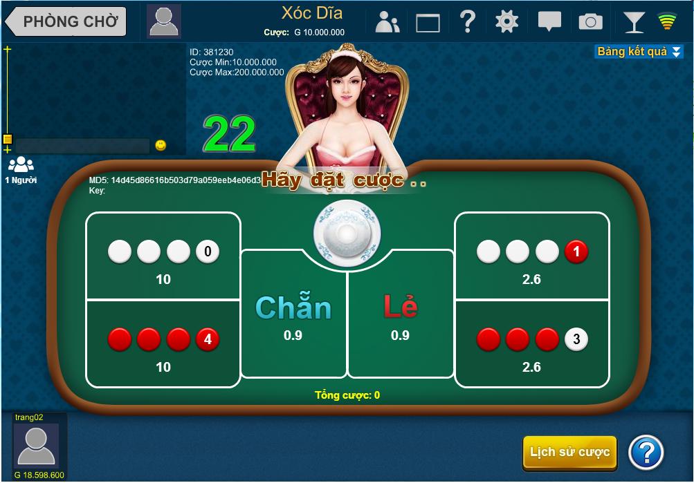 Kinh nghiệm chơi Xóc đĩa online tại M88 2