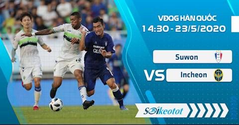M88 Soi Kèo bóng đá Suwon Bluewings vs Incheon 14h30 ngày 23/5 (VĐQG Hàn Quốc 2020)