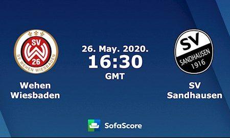 M88 Soi Kèo bóng đá Wehen vs Sandhausen 23h30 ngày 26/5 (Hạng 2 Đức 2019/20)