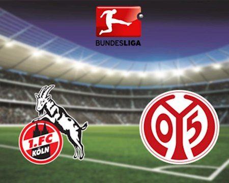 M88 Soi Kèo bóng đá Cologne vs Mainz 20h30 ngày 17/5 (Bundesliga 2019/20)