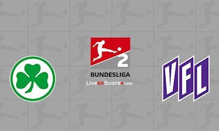 M88 Soi Kèo bóng đá Greuther Furth vs Osnabruck 23h30 ngày 26/5 (Hạng 2 Đức 2019/20)