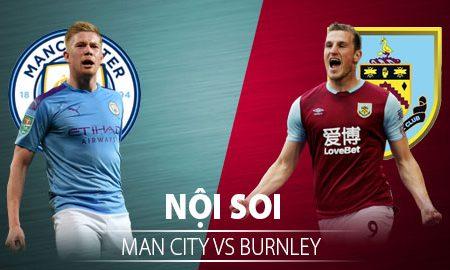 M88 Soi Kèo bóng đá Man City vs Burnley 2h00 ngày 23/6 (Premier League 2019/20)