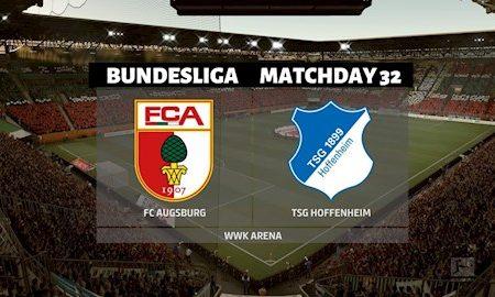 M88 Soi Kèo bóng đá Augsburg vs Hoffenheim 1h30 ngày 18/6 (Bundesliga 2019/20)