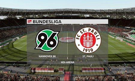 M88 Soi Kèo bóng đá Hannover vs St.Pauli 23h30 ngày 17/6 (Hạng 2 Đức 2019/20)