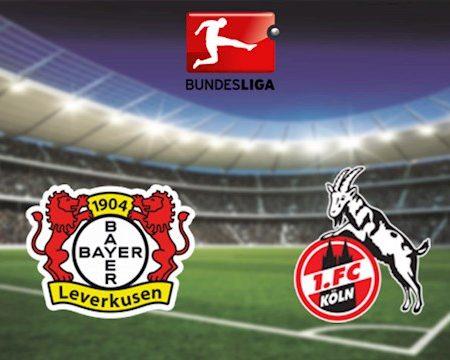 M88 Soi Kèo bóng đá Leverkusen vs Cologne 1h30 ngày 18/6 (Bundesliga 2019/20)