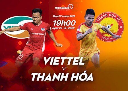 M88 Soi Kèo bóng đá Viettel vs Thanh Hoá 19h00 ngày 23/6 (V-League 2020)