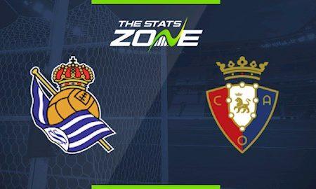 188Bet Soi Kèo bóng đá Sociedad vs Osasuna 3h00 ngày 15/6 (La Liga 2019/20)