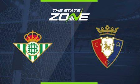 188Bet Soi Kèo bóng đá Betis vs Osasuna 0h30 ngày 9/7 (La Liga 2019/20)