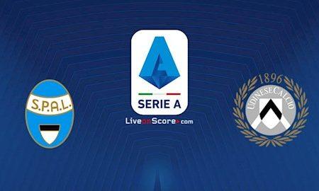 M88 Soi Kèo bóng đá Spal vs Udinese 0h30 ngày 10/7 (Serie A 2019/20)