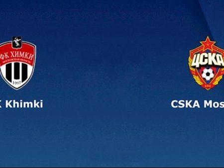 M88 Soi Kèo bóng đá Khimki vs CSKA Moscow 20hh00 ngày 8/8 (VĐQG Nga 2020/21)