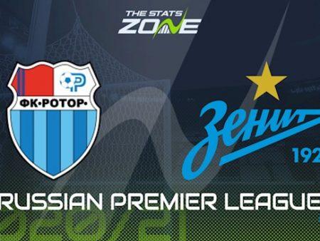 M88 Soi Kèo bóng đá Rotor Volgograd vs Zenit 22h00 ngày 11/8 (VĐQG Nga 2020/21)
