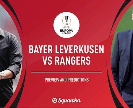 M88 Soi Kèo bóng đá Leverkusen vs Rangers 23h55 ngày 6/8 (Europa League 2019/20)