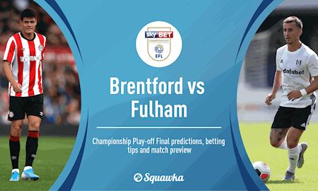 Fun88 Soi Kèo bóng đá Brentford vs Fulham 1h45 ngày 5/8 (Playoff Premier League)