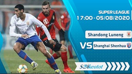M88 Soi Kèo bóng đá Shandong Luneng vs Shanghai Shenhua 17h00 ngày 5/8 (VĐQG Trung Quốc 2020)