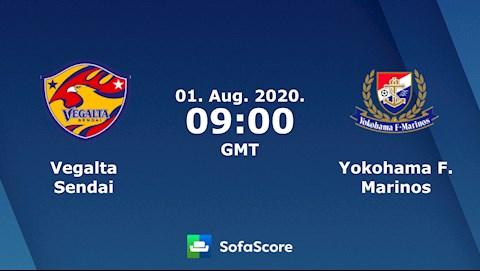 M88 Soi Kèo bóng đá Vegalta Sendai vs Yokohama Marinos 16h00 ngày 1/8 (VĐQG Nhật Bản 2020)