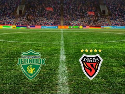 M88 Soi Kèo bóng đá Jeonbuk Motors vs Pohang 17h00 ngày 1/8 (VĐQG Hàn Quốc 2020)