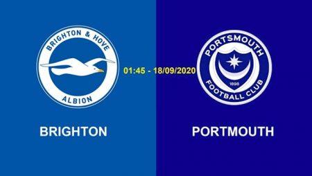 Fun88 Soi Kèo bóng đá Brighton vs Portsmouth 1h45 ngày 18/9 (Cúp Liên đoàn Anh 2020/21)