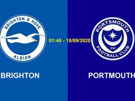 M88 Soi Kèo bóng đá Brighton vs Portsmouth 1h45 ngày 18/9 (Cúp Liên đoàn Anh 2020/21)