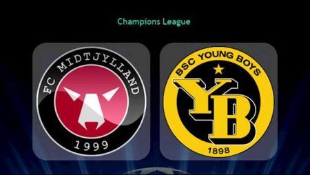 M88 Soi Kèo bóng đá Midtjylland vs Young Boys 1h30 ngày 17/9 (Champions League 2020/21)