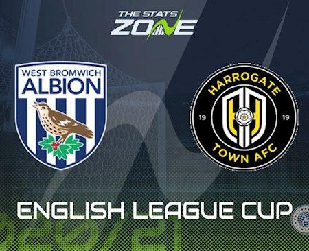 Fun88 Soi Kèo bóng đá West Brom vs Harrogate 0h00 ngày 17/9 (Cúp Liên đoàn Anh 2020/21)