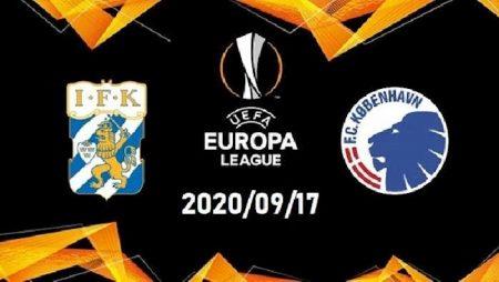M88 Soi Kèo bóng đá Goteborg vs Copenhagen 23h00 ngày 17/9 (Europa League 2020/21)