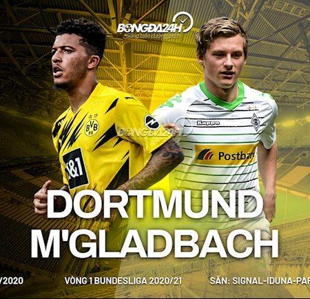 M88 Soi Kèo bóng đá Dortmund vs Gladbach 23h30 ngày 19/9 (Bundesliga 2020/21)