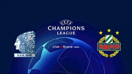 M88 Soi Kèo bóng đá Gent vs Rapid Wien 1h30 ngày 16/9 (Champions League 2020/21)