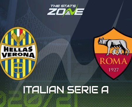 M88 Soi Kèo bóng đá Verona vs Roma 1h45 ngày 20/9 (Serie A 2020/21)