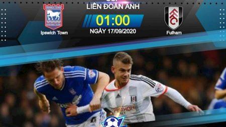 Fun88 Soi Kèo bóng đá Ipswich vs Fulham 1h00 ngày 17/9 (Cúp Liên đoàn Anh 2020/21)