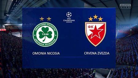 M88 Soi Kèo bóng đá Omonia Nicosia vs Crvena Zvezda 22h00 ngày 16/9 (Champions League 2020/21)