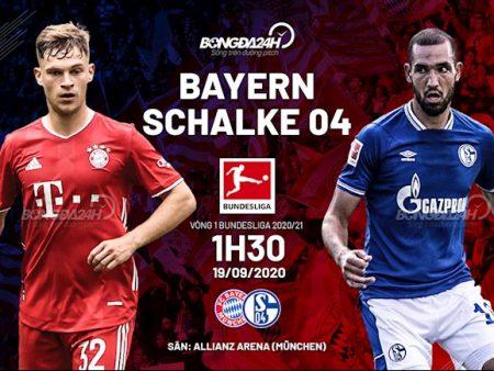 M88 Soi Kèo bóng đá Bayern Munich vs Schalke 1h30 ngày 19/9 (Bundesliga 2020/21)