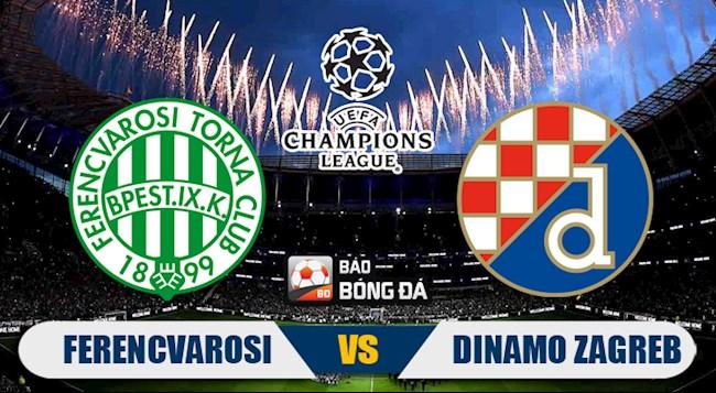 M88 Soi Kèo bóng đá Ferencvarosi vs Dinamo Zagreb 0h00 ngày 17/9 (Champions League 2020/21)