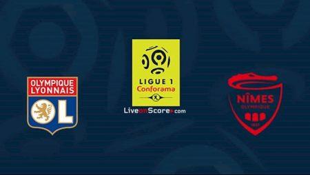 M88 Soi Kèo bóng đá Lyon vs Nimes 2h00 ngày 19/9 (Ligue 1 2020/21)