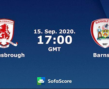 Fun88 Soi Kèo bóng đá Middlesbrough vs Barnsley 0h00 ngày 16/9 (Cúp Liên đoàn Anh 2020/21)