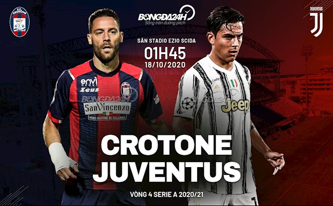 M88 Soi Kèo bóng đá Crotone vs Juventus 1h45 ngày 18/10 (Serie A 2020/21)