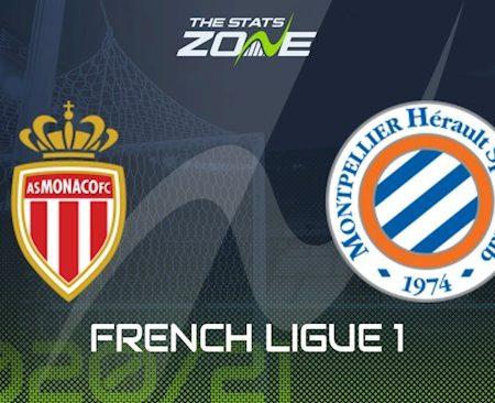 M88 Soi Kèo bóng đá Monaco vs Montpellier 20h00 ngày 18/10 (Ligue 1 2020/21)