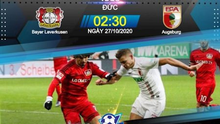 M88 Soi Kèo bóng đá Leverkusen vs Augsburg 2h30 ngày 27/10 (Bundesliga 2020/21)