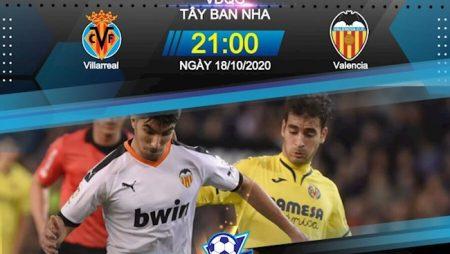 188Bet Soi Kèo bóng đá Villarreal vs Valencia 21h00 ngày 18/10 (La Liga 2020/21)