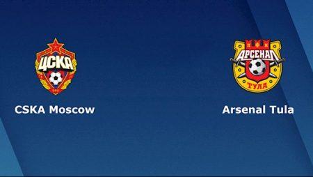 M88 Soi Kèo bóng đá CSKA Moscow vs Arsenal Tula 23h00 ngày 26/10 (VĐQG Nga 2020/21)