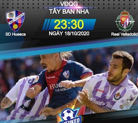 M88 Soi Kèo bóng đá Huesca vs Valladolid 23h30 ngày 18/10 (La Liga 2020/21)